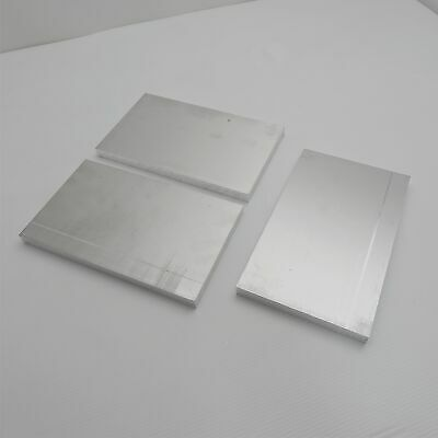 ".625"" thick  5/8  Aluminum 6061 PLATE  5.875"" x 9.625"" Long QTY 3  sku 175958"