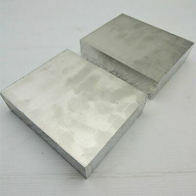 "1.5"" thick 1 1/2  Aluminum 6061 PLATE  6.75"" x 7.25"" Long QTY 2  sku 175979"