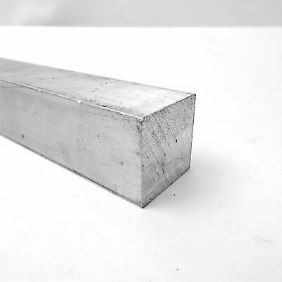 "1.75"" x 1.75"" Aluminum  6061 SQUARE Solid  BAR 11.125"" Long  Pieces 3 sku M540"