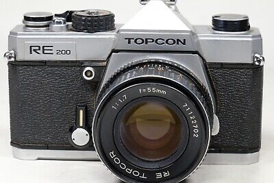 Topcon RE200 with 55mm f1.7 RE-Topcor RARE FIND