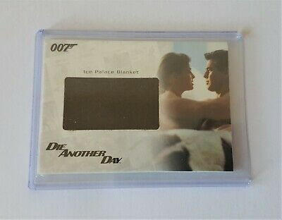 James Bond In Motion Relic Card Rc23 Ice Palace Blanket #253/375 Die Another Day