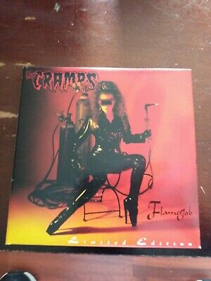 The Cramps Flame Job Limited edition  CD/DVD