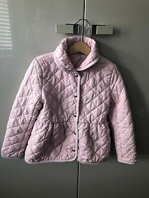Girls Pink polo ralph lauren jacket Quilted Age 6