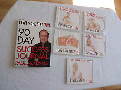 Paul McKenna's I Can Make You Thin Success Journal 5 x CD's