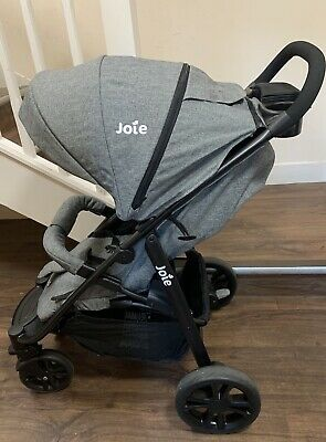 Joie Litetrax 4 Chromium Grey Pushchair  Stroller Including Buggy Raincover VGC