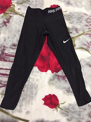 Girls Nike Pro Dri Fit Leggings 8-10years