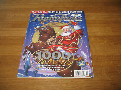 Radio Times magazine # 1998 December 19 BBC tv Xmas Christmas double issue