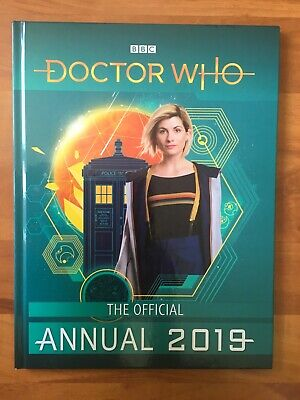 doctor who the official annual 2019 BBC