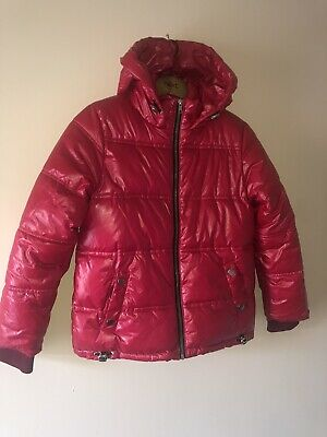 NEXT Girls Pink Bomber Jacket Coat Age 10 Excellent Condition