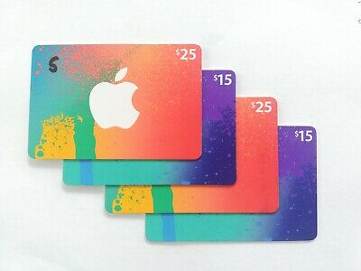 Apple App Store & iTunes $80 Physical Gift Card