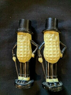Mr. Peanut Vintage Salt and Pepper Shakers
