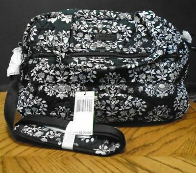 Veras Bradley Compact Traveler Bag New With Tags Chandelier Noir