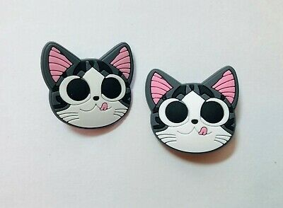 Cat Kitty PVC Shoe Charms fit in your Crocs/Jibbitz