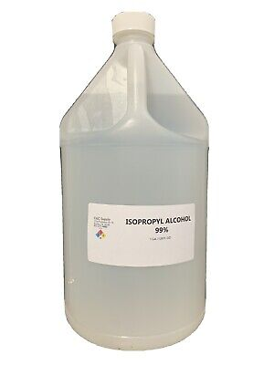 99% Isopropyl Rubbing Alcohol One (1) Gallon in stock ships same day