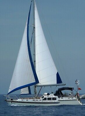 12.6m Cutter Rigged Steel Sailing Yacht fitted out as a liveaboard world cruiser