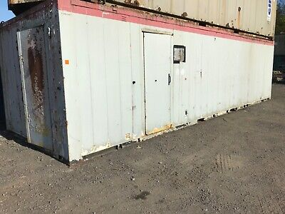 shipping container 32x10 toilet block