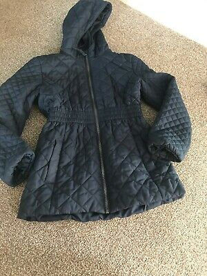 Girls Aged 9-10 Bluezoo Debenhams Quilted 3/4 Jacket