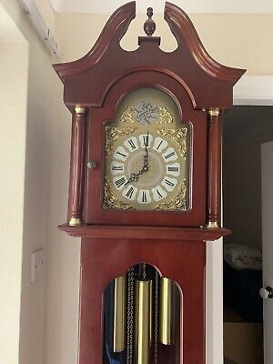 Tempus Fugit Grandfather Clock  Westminster Chimes