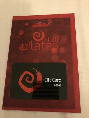Chilli Pilates Gift Card For 25 Classes Worth £375 Don't Miss!!