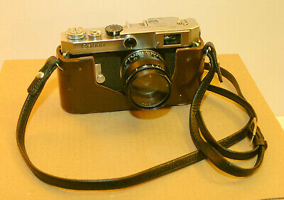 Canon VI-T 35mm Film Rangefinder Camera with Trigger Wind, 50mm Lens and Case