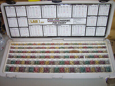 Lab Color Passport Pin Chart 003 Pin Locksmith Chart Kit New? Semi Pro3 Ldku3
