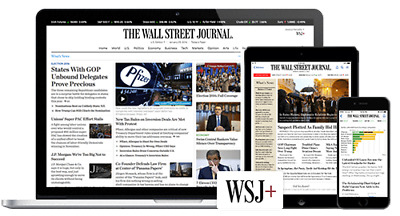 Wall Street Journal WSJ 5-Year Digital Subscription for PC, Phone, Magazine Incl