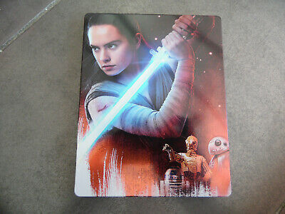 Bluray Blu-ray  star wars episode 8 steelbook