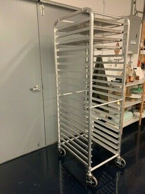 Prepline Heavy Duty Aluminum Sheet Pan Rack - 20 Pan Capacity