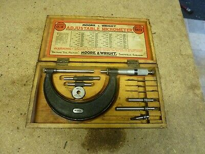 Moore and wright 0 to 100mm micrometer 941M