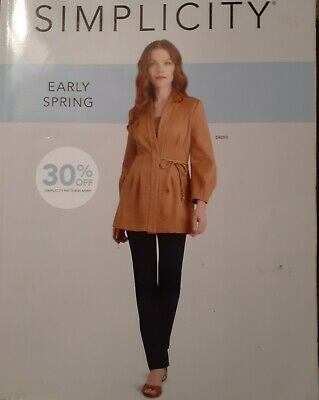 Sewing Patterns CATALOG Simplicity 2020 Early Spring Store CounterGREAT 816 pgs