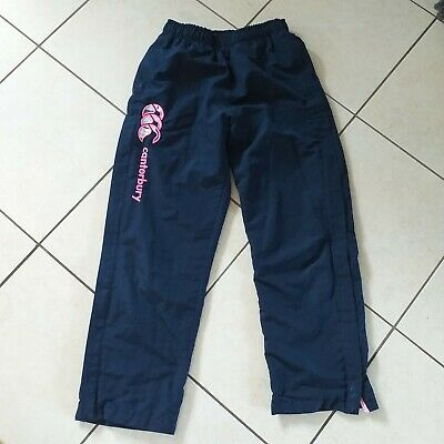 Canterbury Girls Uglies Navy Tracksuit Bottoms Age 12