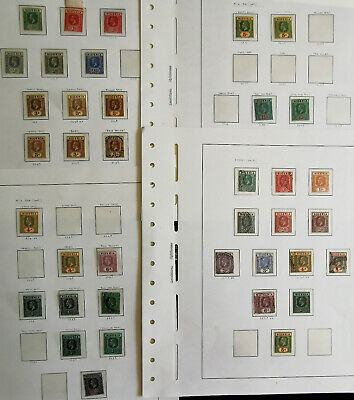 Commonwealth Collection Mint And Used On Album Pages And Cards ..Good Mint Gv Ni