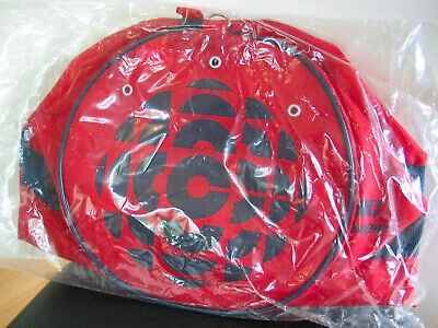 Canadian Broadcasting Corporation CBC Red Nylon Bowling Bag NEW IN PKG
