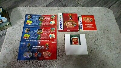 The Legend Of Zelda Oracle Of Seasons Nintendo Gameboy Color Cib Complet Pal Eur