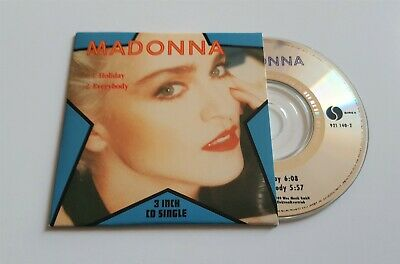 Madonna 3 Inch Cd Single (1989) - Holiday, Everybody *Nm*
