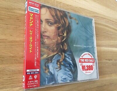 Madonna Ray Of Light Japan WPCR-78125 Sealed Picture On OBI