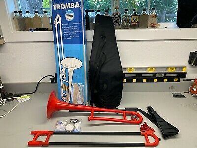 Tromba TRB-RE Plastic Trombones-red, Bb Tenor - WORKS GREAT!!!