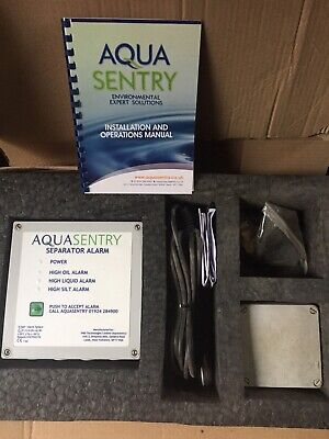 TWO AquaSentry Seperator alarm complete; NEW, UNUSED, BOXED