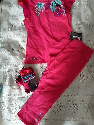 Carimini girls pink summer outfit, BNWT, size 12 yrs. Stunning!