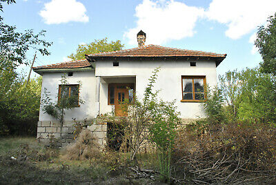 Fast sale: White House & land freehold property Bulgaria red brick Bulgarian EU