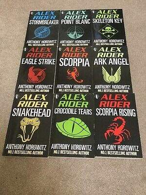 Anthony Horowitz Alex Rider 9 Book Collection