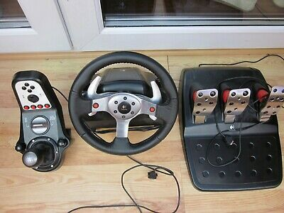 Logitech G25 Driving Force Steering Wheel for PC, Sony PlayStation 3 & 4