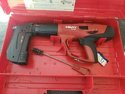 Hilti Dx 460 Nail Gun With Mx 72 Magazine Like Hilti Dx 5. Used