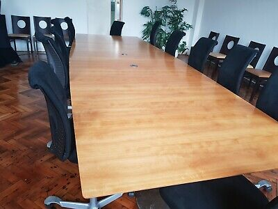 Reduced Boardroom/Meeting/Office/Conference table seats up to 22