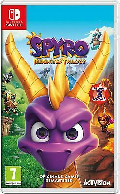 Spyro Reignited Trilogy Ninentdo Switch Brand New Sealed Uk Seller