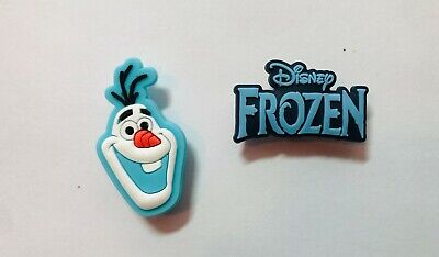 Frozen Shoe Charm Set for your Crocs/Jibbitz Frozen Olaf and Logo