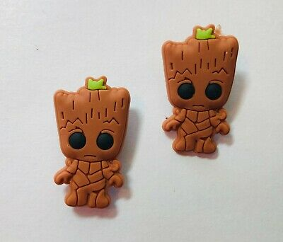Guardians of the Galaxy Groot PVC Shoe Charm Set for your Crocs/Jibbitz