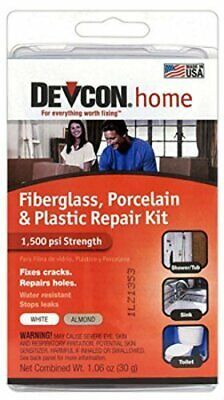 Devcon Epoxy Bathtub Repair Kit Almond & White 2 PACK