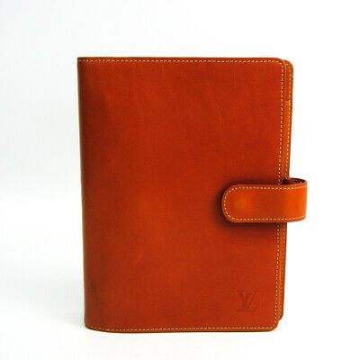 Louis Vuitton Nomade Leather Planner Cover Caramel Agenda fonctionnel M BF515004
