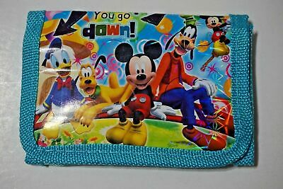 NEW Mickey Mouse Kids Childrens Boys Girls Coins Purse Bag Wallet